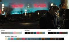 Ocean's Eleven - Color Palette