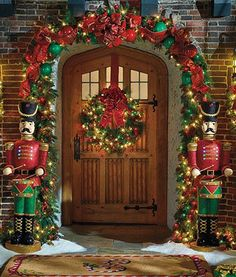 On your outdoor porch or in your entry, our 5 ft. Animated Drummer Solider strikes a festive beat to the tune of four pre-loaded holiday songs.