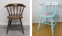 "DIY : Relookez une chaise bistrot façon ""tie and dye"""