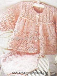 Baby Knitting Patterns Free Baby Sweater Knitting Patterns - Page 2...