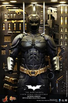 Hot Toys to release the Batman Armory, And it is just bigger than a tangerine.