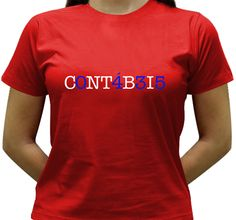 Camiseta Contábeis - Baby-look