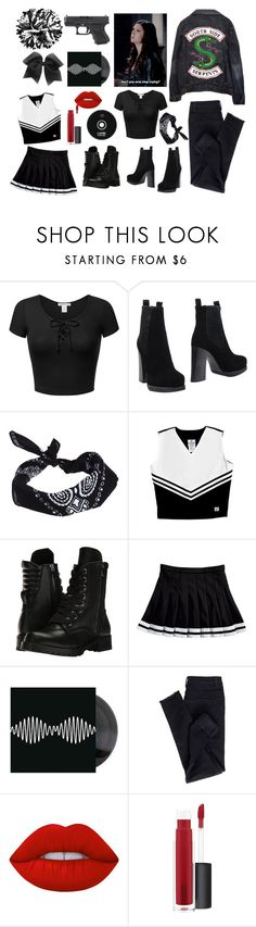 """""""South-side Serpent"""" by kayascodellc ❤ liked on Polyvore featuring Acne Studios, ASOS, Capezio, Apex, Lime Crime, John Lewis and Chassè"""