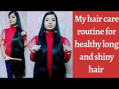 My Hair Care Routine For Long Healthy And Shiny Hair Simple And Effective In 2020 Hair Care Tips In Hindi Strong Hair Remedies Indian Hair Care