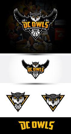 DC Owls Elite Basketball Club needs a new logo Logo design #48 by struggle4ward