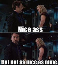 Tony appreciates the better things in life.