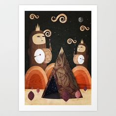 And So We Play Art Print by inWONDER - $16.99