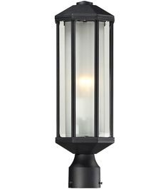 Z-Lite 525ph-bk Cylex Collection Outdoor Post Light