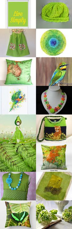 The Colour Lime by Dianna on Etsy--Pinned with TreasuryPin.com