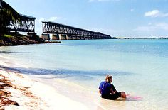 Beautiful Bahia Honda State Park in the Florida Keys