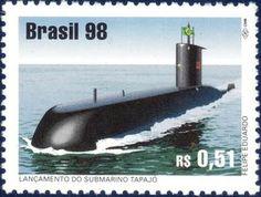 Sello: Submarine (Brasil) Mi:BR 2877,Yt:BR 2399,RHM:BR C-2140