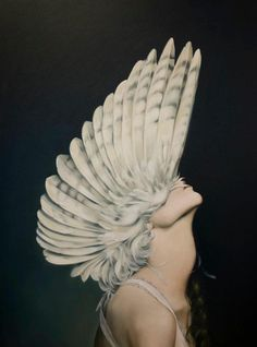 "Amy Judd,Ascending Athena, oil on canvas, 30"" x 40"""
