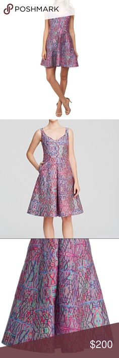 """Midweek Sale! Nanette Lepore Machu Picchu Dress Midweek sale! Sale prices are good through Friday 2/16/18! Nanette Lepore Machu Picchu Dress With Pockets - Size 2 - Dress has pockets on each side - 37"""" Long - Waist is 14"""" & bust is 16"""" lying flat - Excellent used condition Tags: pink dress, a-line dress, pockets, floral dress, spring wedding, summer wedding, casual dress, bridal shower dress, graduation dress, skater dress Nanette Lepore Dresses"""