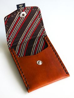 Brown with Red & Yellow Rope (Pocket Wallet)