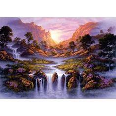 Puzzle Wodospad snów