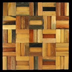 Rustico by Renaza are naturally finished timber mosaic wall tiles. Crafted from 100 year old reclaimed timber offering a rustic feature to any home project. Timber Tiles, Timber Flooring, Mosaic Pieces, Mosaic Wall Tiles, Reclaimed Timber, Style Tile, Wall Cladding, Recycled Wood, House