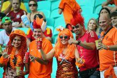 Afición Holanda // Nederland fans
