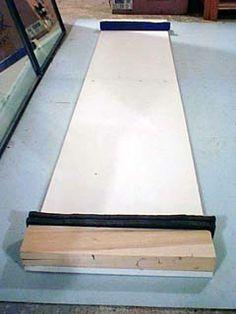 DIY a slideboard (skating)