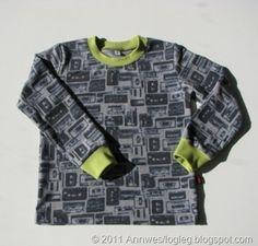 Å sy en genser: konstruksjon