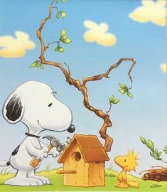We're all building and making things for other. That's a good thing Snoopy Cartoon, Peanuts Cartoon, Peanuts Snoopy, Snoopy Love, Snoopy And Woodstock, Meu Amigo Charlie Brown, Charlie Brown And Snoopy, Snoopy Images, Snoopy Pictures
