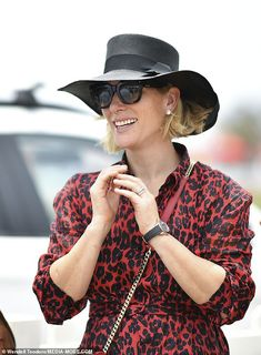 """""""January Zara and Mike Tindall attended the Magic Millions Carnival and Raceday in Queensland, Australia of which Zara is a brand ambassador. Zara then took part in a charity polo match to raise money for victims of the devastating Australian bushfires. Princesa Real, Princesa Diana, Magic Millions, Mike Tindall, Zara Phillips, Polo Match, Royal Engagement, Cotton Suit, Brian Atwood"""