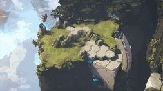 ArtStation - Shardbound - Spiritwalk Studios - HighLands environment, Ghislain GIRARDOT