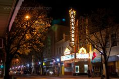 Paramount Theater   Downtown Bristol, TN / VA Photo © M.J. Photography. All Rights Reserved. www.mjphotographyTN.com