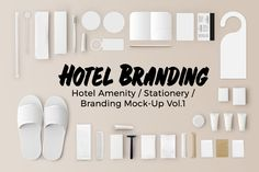 Hotel Amenity / Branding Vol.1 by orakorek on @creativemarket