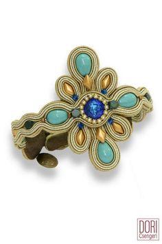 Swarovski Crystal Beads, Soutache Jewelry, Casablanca, Boho Necklace, Ear Piercings, Turquoise Bracelet, Dangle Earrings, Fashion Jewelry, Chain