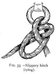 Image result for how to tie up a haynet