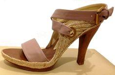 STELLA+MCCARTNEY+Rose+Gold+Sandals+US-6+EU-36,+$158.00