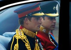Prince William and Harry arrive at the wedding | Watch My GF is the hottest and: Bimals blog