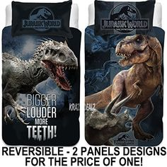Jurassic World Bedding Trend T Rex Dinosaur Quilt Duvet