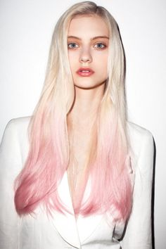 Ombre Pink Hair
