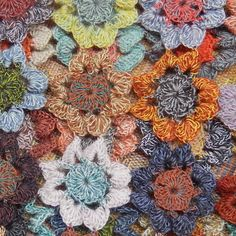 Close up of Sophie Digard crochet - from Laura Foster Nicholson's blog