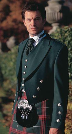 The Welsh National Tartan, Scottish Kilts, Highlandwear, Tartans and accessories Kilt Hire, Scotland Kilt, Tartan Wedding, Scottish Clothing, Men In Kilts, Kilt Men, Gentlemen Wear, Rock, Shirt Jacket