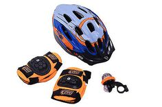 Boys bicycle xmas gift set #action man kids bike #helmet pads bell #bargain pack,  View more on the LINK: http://www.zeppy.io/product/gb/2/152382836638/