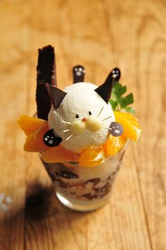 Japanese parfait ~ kitty
