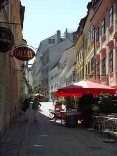 Spittelberg, an art district in Vienna