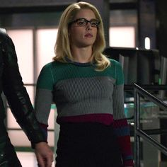 Felicity: Colorblocked Ribbed Sweater