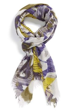 Tarnish+'Scattered+Circles'+Scarf+available+at+#Nordstrom