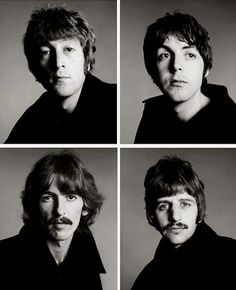 The Beatles by Richard Avedon, August 11th 1967
