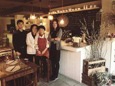 El equipo del Koryo: Ruben, Kyunghee (madre de Ahyun), Yasuko y Ahyun