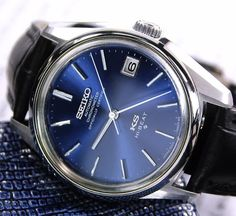 My newest addition King seiko 1970's can't wait for the thing to arrive