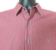 Men's American Eagles Outfitters Vintage Fit Shirt Long-Sleeve Size Small / P…