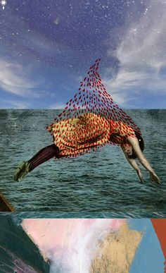 "Saatchi Online Artist: alisa yang; Photomanipulation, 2012, Digital ""The Pearl Diver"""