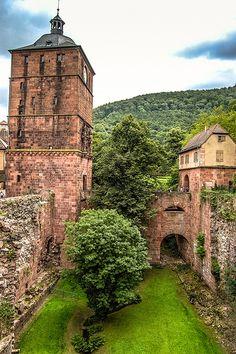 Heidelberg Castle Ruins - Heidelberg, Germany