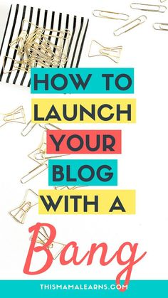 Ever launched a blog expecting to make a big splash but... nothing happened? You were sending post after post out into the ether. No readers (not even your mom), no comments, no shares. Why? It wasn't that your content wasn't good. It doesn't have to be this way. You can launch a successful blog and have readers from day 1. Click to learn more.