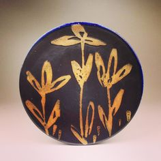 Dinner Plate 38 by klinepottery on Etsy