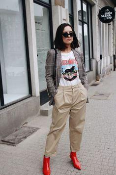 10 provas que a bota vermelha é a nova queridinha das fashion girls - Guita Moda